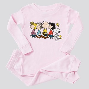 Peanuts Gang Toddler Pink Pajamas