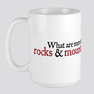 Jack Austen Rocks Large Mug