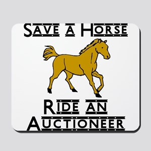 Auctioneer Mousepad