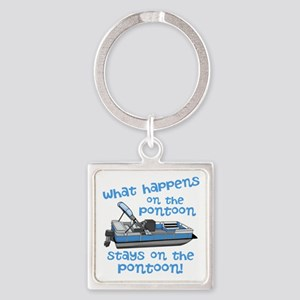 On The Pontoon Keychains