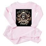 Gangsta Love Toddler Pink Pajamas