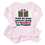 Taxes You'd Save Toddler Pink Pajamas