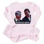 OBAMA-RAHM-A Toddler Pink Pajamas