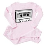 Old School Toddler Pink Pajamas