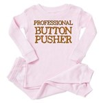 Basset Toddler Pink Pajamas