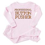 Basset Toddler Pink Pajamas