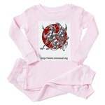 RetroMUD Toddler Pink Pajamas