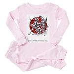 RetroMUD Toddler Pink Pajamas