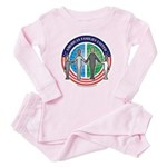American Families United Toddler Pink Pajamas