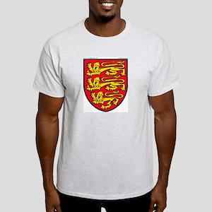 England: Heraldic Ash Grey T-Shirt