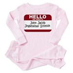 Jingleheimer Schmidt Toddler Pink Pajamas