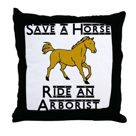 Arborist Throw Pillow