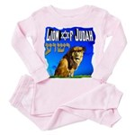 Lion of Judah 10 Toddler Pink Pajamas