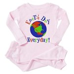 Earth Day Pink Pajamass Toddler Pink Pajamas