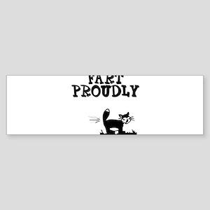 """Fart Proudly"" Bumper Sticker (10 pk)"