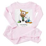 Chemoostry Toddler Pink Pajamas