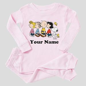 Peanuts Walking No BG Personalized Toddler Pink Pa