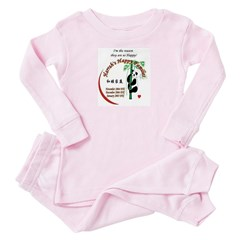 I'm the reason HHF Toddler Pink Pajamas