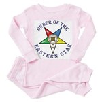 OES Lettered Toddler Pink Pajamas