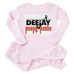 Deejay poopy pants Toddler Pink Pajamas