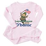 Leprechauns for O'Bama Toddler Pink Pajamas