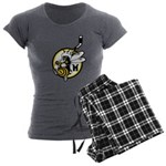 Hornets Women's Charcoal Pajamas
