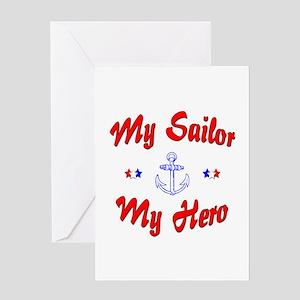 My Sailor My Hero Greeting Card