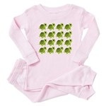 Sea Turtles Baby Pajamas