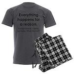 Everything Reason Men's Charcoal Pajamas