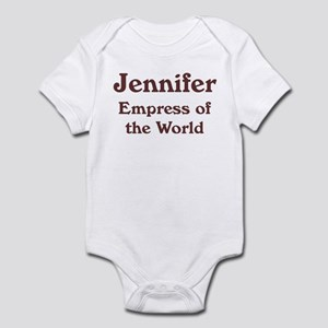 Personalized Jennifer Infant Bodysuit