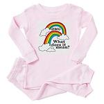 Double Rainbow Infant Bodysuit