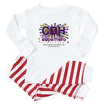 CDH Superhero Stars Logo for Girls Baby Pajamas