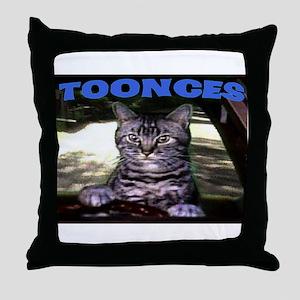 TOONCES Throw Pillow