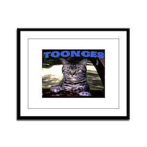 TOONCES Framed Panel Print