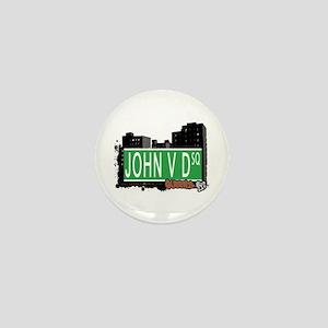 JOHN V D SQUARE, QUEENS, NYC Mini Button