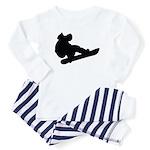 Snowboarding Baby Pajamas