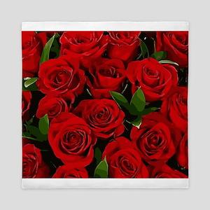 Red Roses Queen Duvet