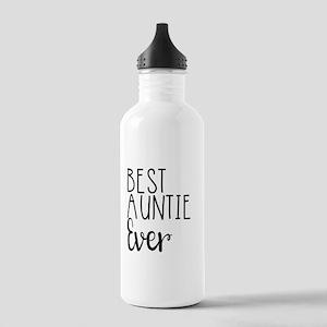 Best Auntie Ever Water Bottle
