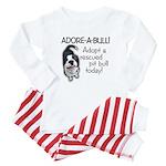 Adore-A-Bull! Pit Bull Baby Pajamas