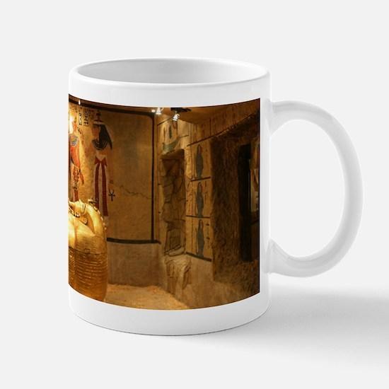 King Tut Exhibit at the Luxor Mug