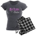 Air Force Sister Women's Charcoal Pajamas