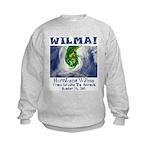 Hurricane Wilma Kids Sweatshirt