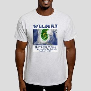 Hurricane Wilma Ash Grey T-Shirt