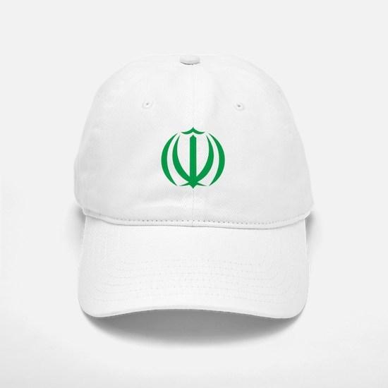 Iran Coat Of Arms Baseball Baseball Cap