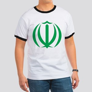 Iran Coat Of Arms Ringer T