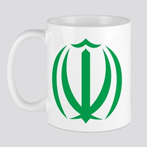 Iran Coat Of Arms Mug