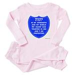 YHVH Is My Shield Baby Pajamas