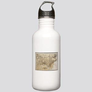 Vintage Map of Cambrid Stainless Water Bottle 1.0L