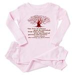 Jefferson's Tree of Liberty Baby Pajamas
