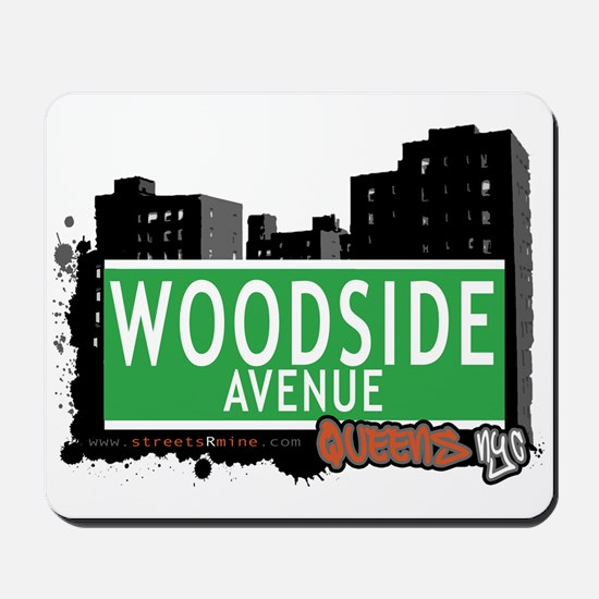 WOODSIDE AVENUE, QUEENS, NYC Mousepad